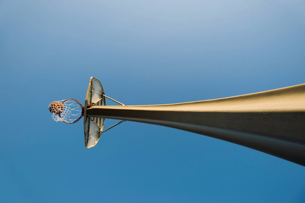 Basketball net : Stock Photo