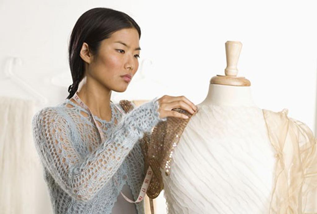 Female fashion designer : Stock Photo