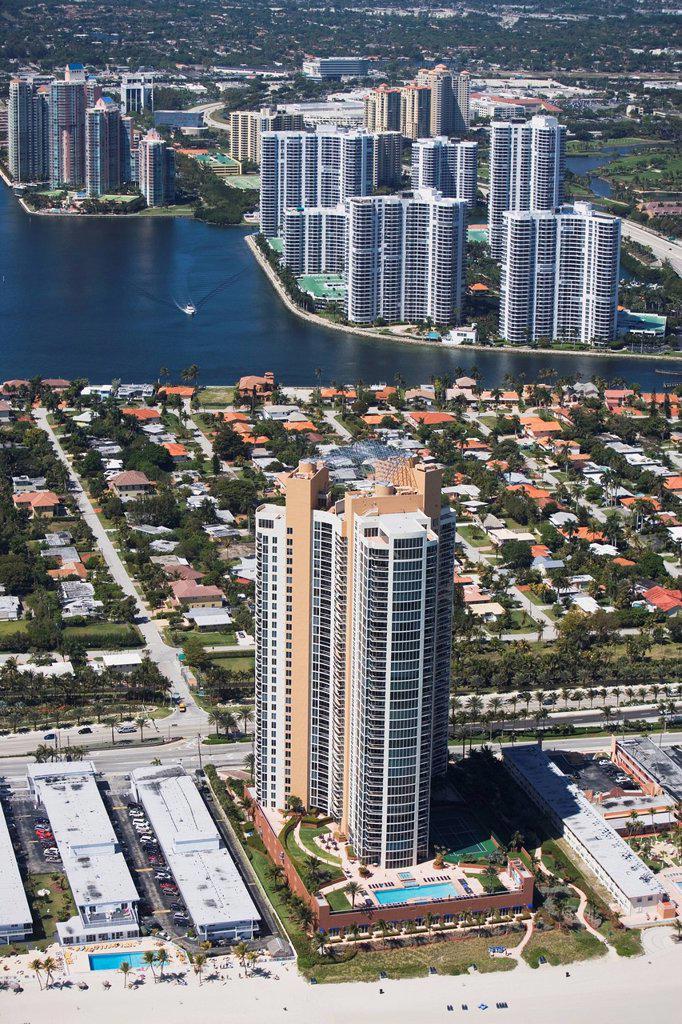 USA, Florida, Miami, Cityscape : Stock Photo
