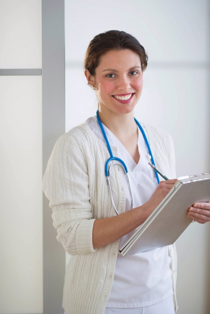 Stock Photo: 1795R-43832 Portrait of nurse