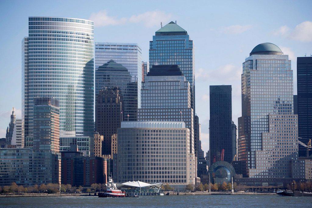 USA, New York State, New York City, Skyline : Stock Photo