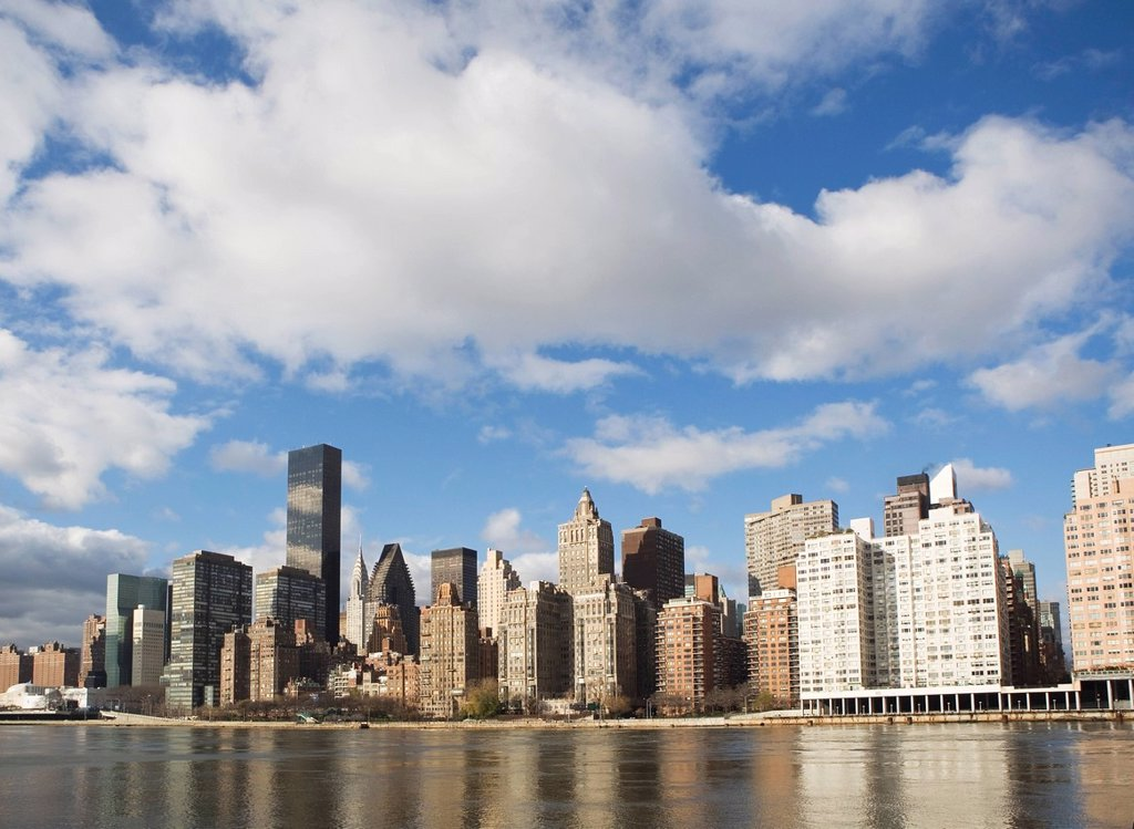 USA, New York State, New York City, Skyline : Stock Photo