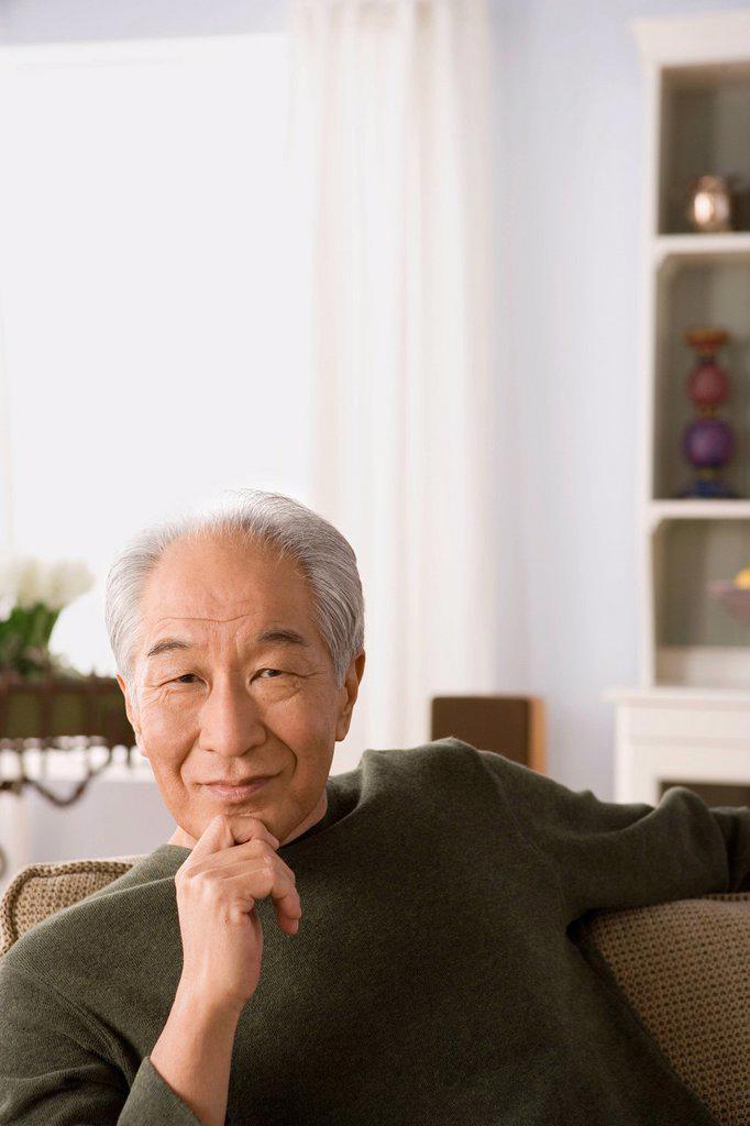 Stock Photo: 1795R-64586 Portrait of senior man