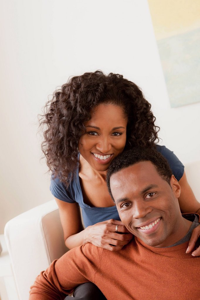 Stock Photo: 1795R-67749 Smiling mid adult couple together
