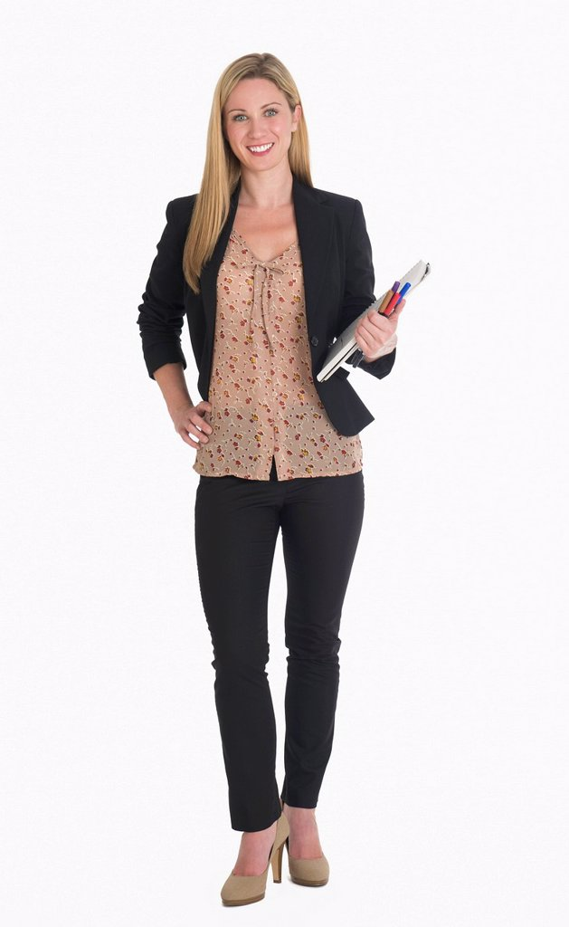 Stock Photo: 1795R-69971 Studio portrait of businesswoman