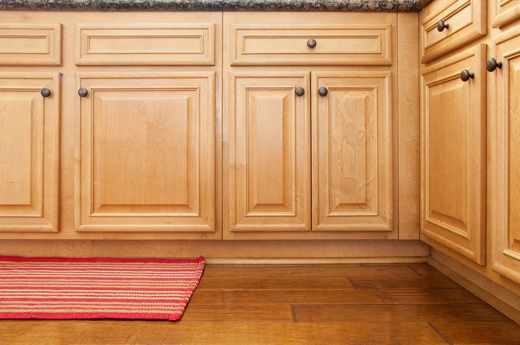 Stock Photo: 1795R-72578 Part of kitchen cabinets