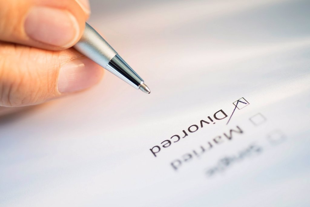 Stock Photo: 1795R-79156 Close_up of hand filling out form