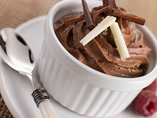 Mousse au Chocolat : Stock Photo