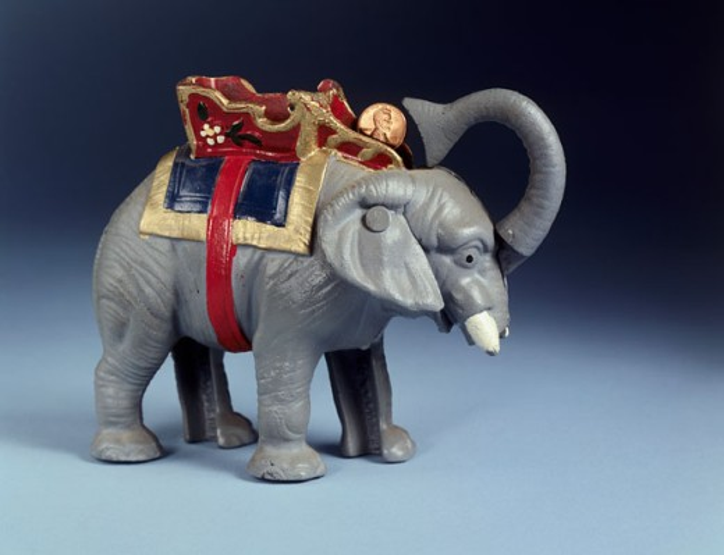 Mechanical Toy Bank : Stock Photo