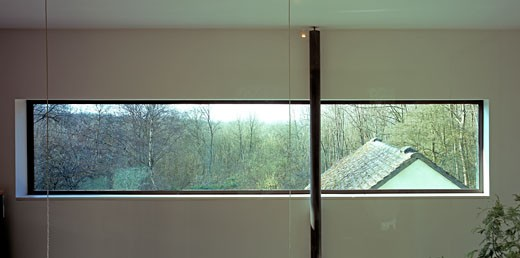Stock Photo: 1801-11452 THOMAS HOUSE, KENT, UNITED KINGDOM, INTERIOR PANORAMA, FOSTER LOMAS ARCHITECTS