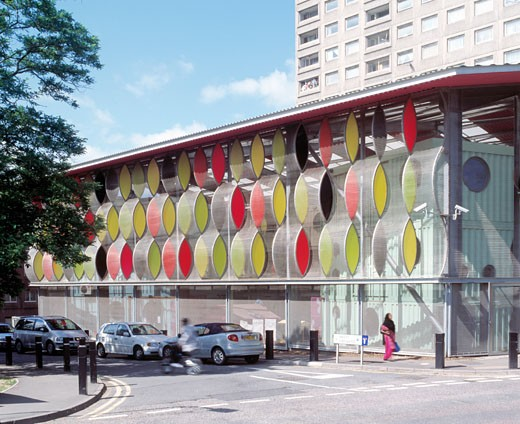 Stock Photo: 1801-1195 FAWOOD CHILDRENS CENTRE, FAWOOD AVENUE, LONDON, NW10 WILLESDON, UNITED KINGDOM, ALSOP ARCHITECTS LIMITED