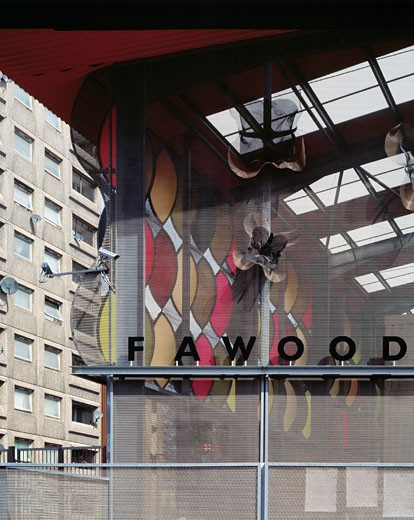 FAWOOD CHILDRENS CENTRE, FAWOOD AVENUE, LONDON, NW10 WILLESDON, UNITED KINGDOM, ALSOP ARCHITECTS LIMITED : Stock Photo