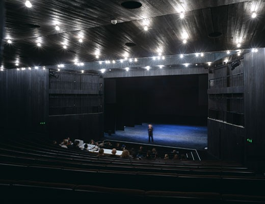 LABAN, CREEKSIDE, LONDON, SE8 DEPTFORD, UNITED KINGDOM, THEATRE, HERZOG & DE MEURON : Stock Photo