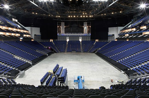 O2 ARENA - MILLENIUM DOME, LONDON, UNITED KINGDOM, HOK SPORT : Stock Photo
