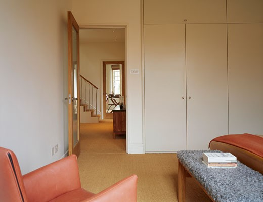 Stock Photo: 1801-21754 PRIVATE HOUSE, PUTNEY, LONDON, SW6 FULHAM, UNITED KINGDOM, BEDROOM TO LANDING, PATEL TAYLOR