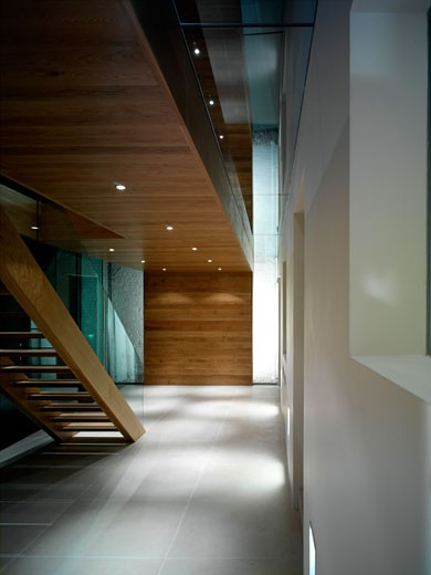 PRIVATE HOUSE EXTENSION, LONDON, UNITED KINGDOM, OVERALL GROUND FLOOR VIEW, SIMON CONDER ASSOCIATES : Stock Photo