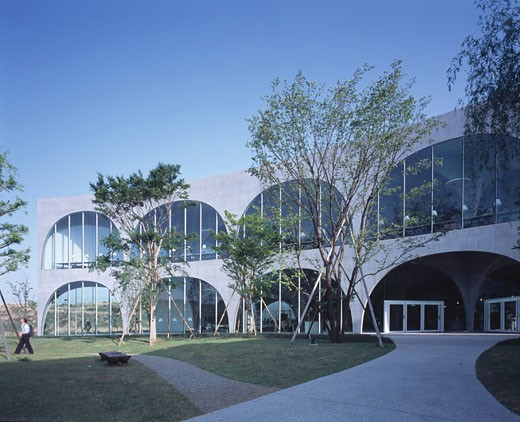 Stock Photo: 1801-26836 TAMA ART UNIVERSITY LIBRARY, TOKYO, JAPAN, TOYO ITO