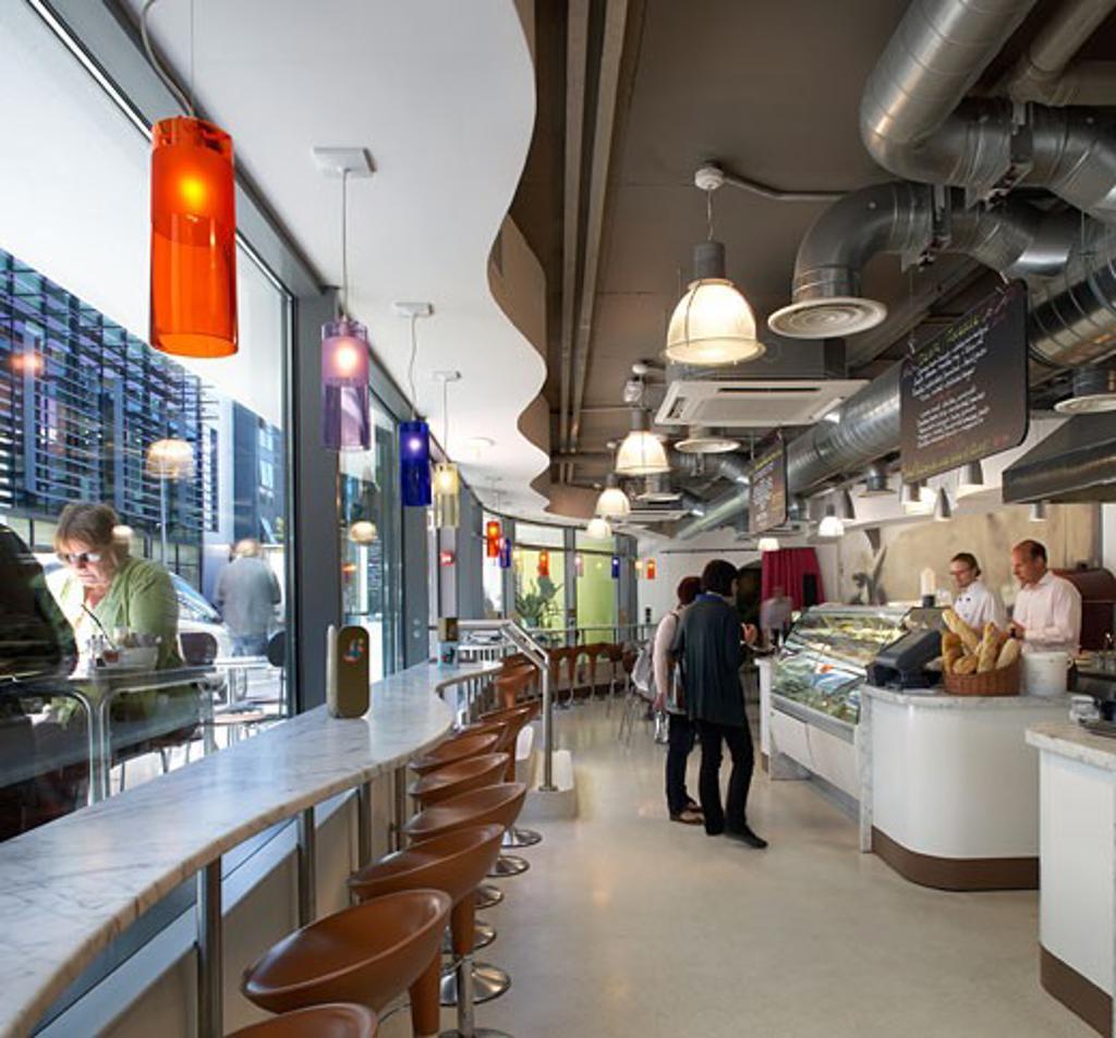 Myhotel brighton., Myhotel, Jubilee Street, Brighton, East Sussex, United Kingdom, Rhwl Architects : Stock Photo