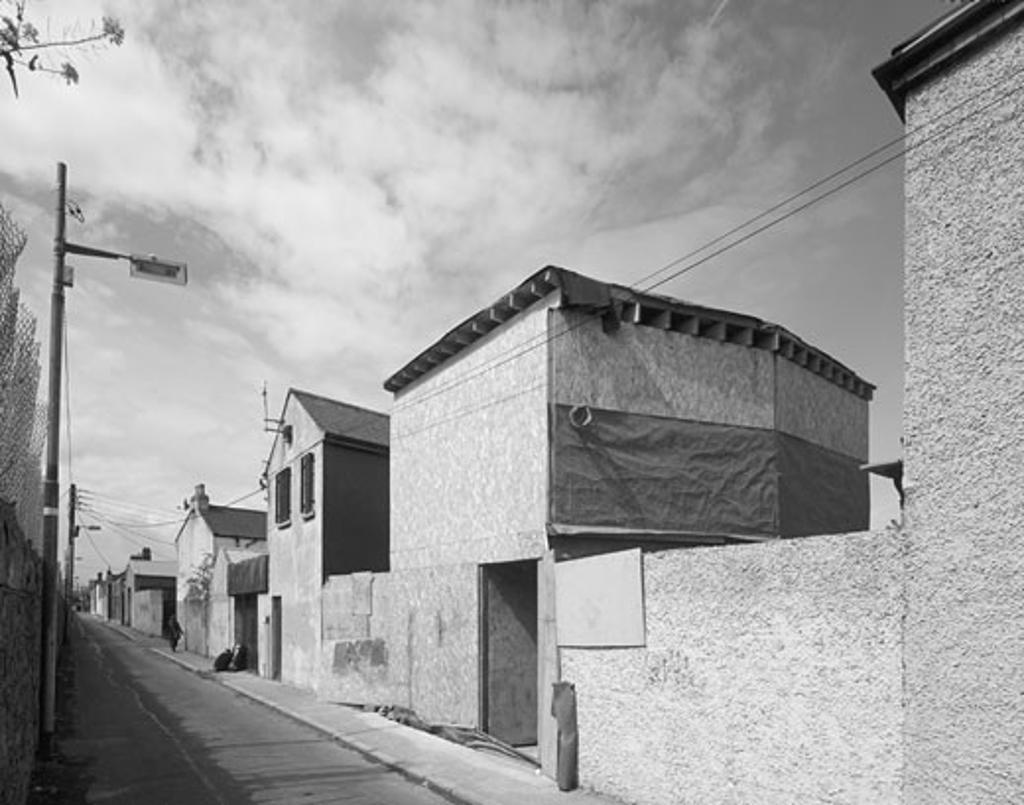 Stock Photo: 1801-37238 Stoney House, Dublin, Ireland, De Paor Architects, Stoney house stoney st view.