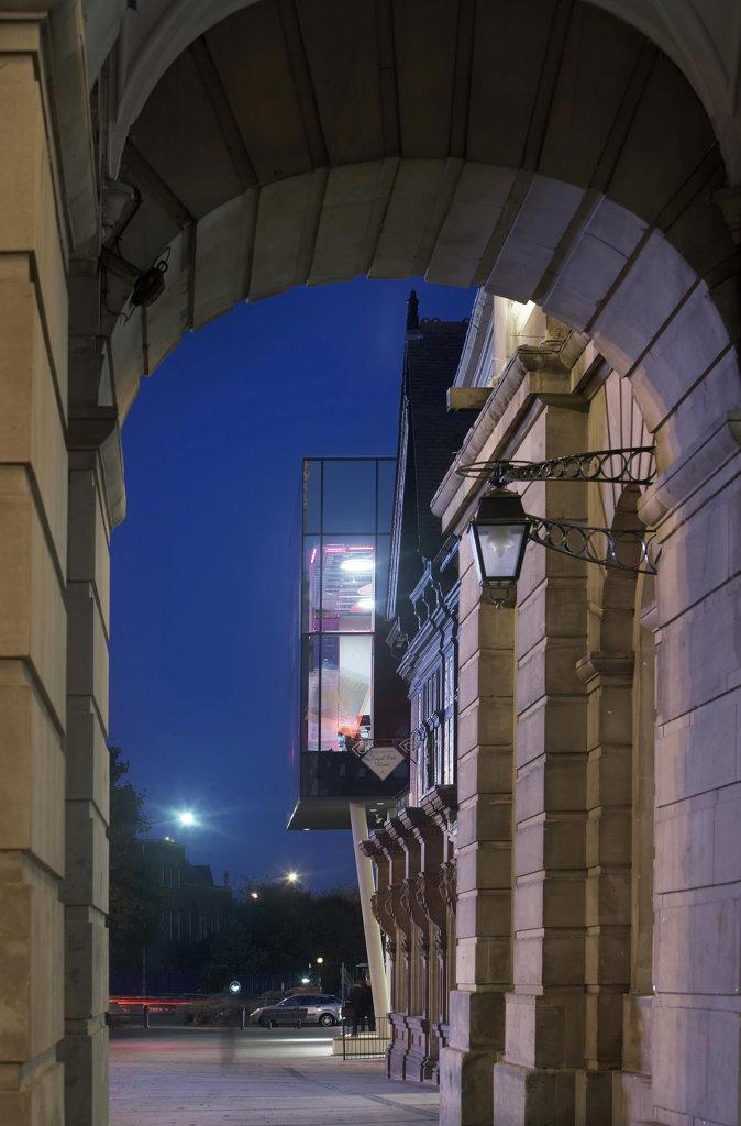 Quad, Derby, United Kingdom, Feilden Clegg Bradley Architects, Quad. : Stock Photo