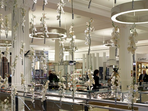 Selfridges - Wonder Room, London, United Kingdom, Klein Dytham Architecture, Interiors of the wonder room in selfridges. : Stock Photo