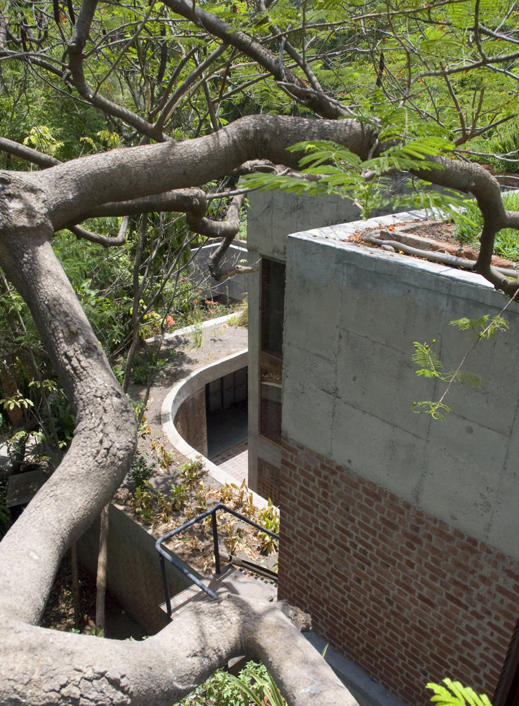 Sarabhai House, Ahmedabad, India, Le Corbusier, Sarabhai house-. : Stock Photo
