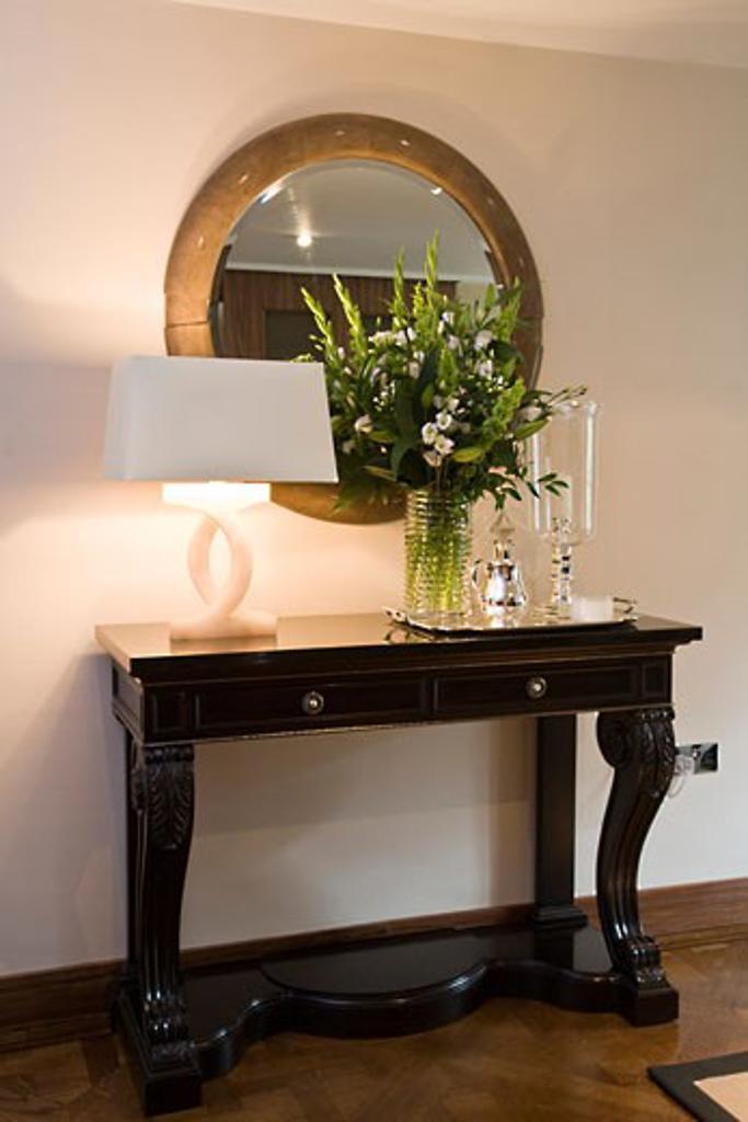 Private Apartment, London, United Kingdom, Casa Forma, Cadogan place london UK private apartment interior by luigi esposito CD casa forma. : Stock Photo