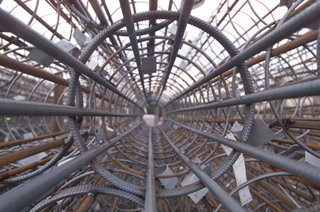 Wembley Stadium Demolition, Wembley, United Kingdom, Architect Unknown, Wembley stadium demolition demolition close up. : Stock Photo