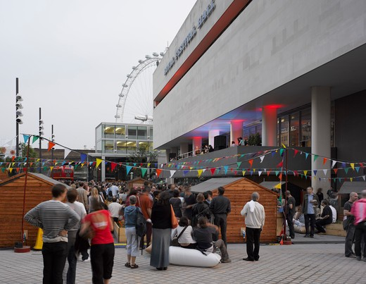 Stock Photo: 1801-47175 Royal Festival Hall, London, United Kingdom, Leslie Martin Robert Matthews Peter Moro and Allies and Morrison Architects, ROYAL FESTIVAL HALL OPENING CONCERTS