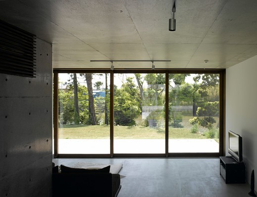 Stock Photo: 1801-48452 The Wilson House, Japan, Klein Dytham Architecture, THE WILSON HOUSE-INTERIOR VIEW