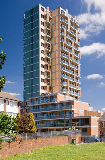 Stock Photo: 1801-49840 Elmgrove Point, Plumstead London, United Kingdom, Alan Camp Architects