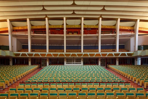 Stock Photo: 1801-52363 Tivoli Concert Hall  3Xn  Copenhagen Denmark  2005  Restored Auditorium