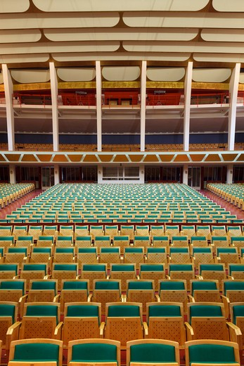 Stock Photo: 1801-52366 Tivoli Concert Hall  3Xn  Copenhagen Denmark  2005  Restored Auditorium