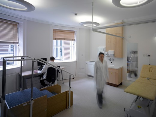London Clinic-Physiotherapy Room : Stock Photo