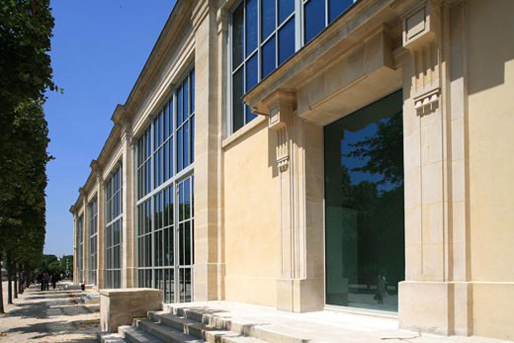 MUSÉE DE L'ORANGERIE, JARDIN DES TUILERIES, PARIS, FRANCE, BLP ARCHITECTS : Stock Photo