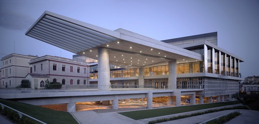 New Acropolis Museum  Athens  Greece : Stock Photo