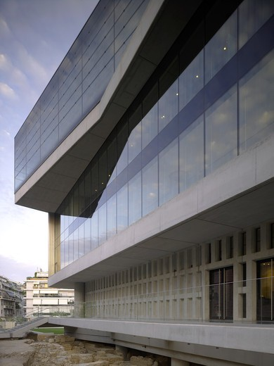 Stock Photo: 1801-55729 New Acropolis Museum  Athens  Greece