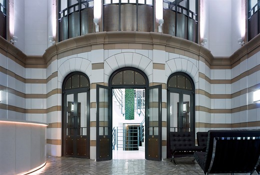 Stock Photo: 1801-56162 Reception Area - Austen Friars  City Of London