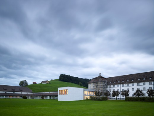 Stock Photo: 1801-57452 Music School Einsiedeln Monastery Diener , Diener Einsiedeln 2010 Switzerland