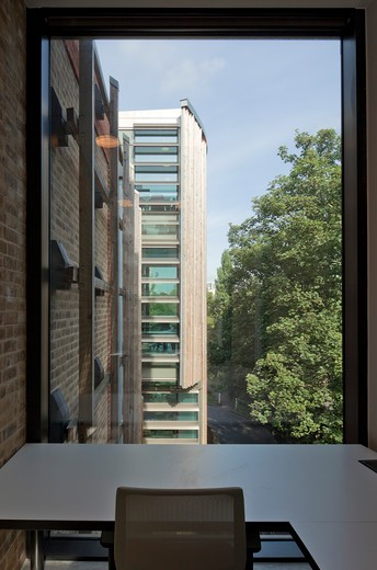 Herbarium Kew  Edward Cullinan Architects  View From Study Pod : Stock Photo