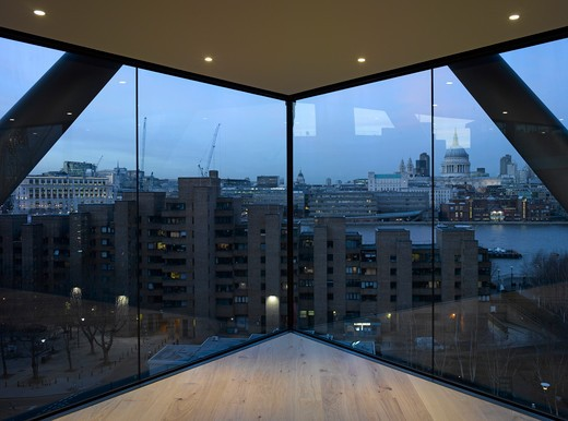 Stock Photo: 1801-60019 Neo Bankside  Rogers Stirk Habour And Partners 2011-Interior View At Dusk