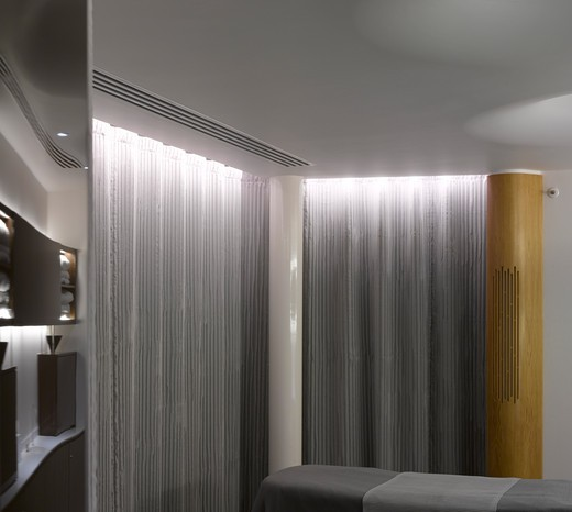 Stock Photo: 1801-60120 Rooftop Spa At 4 Seasons Hotel - Eric Parry Architects 2011-Treatment Room