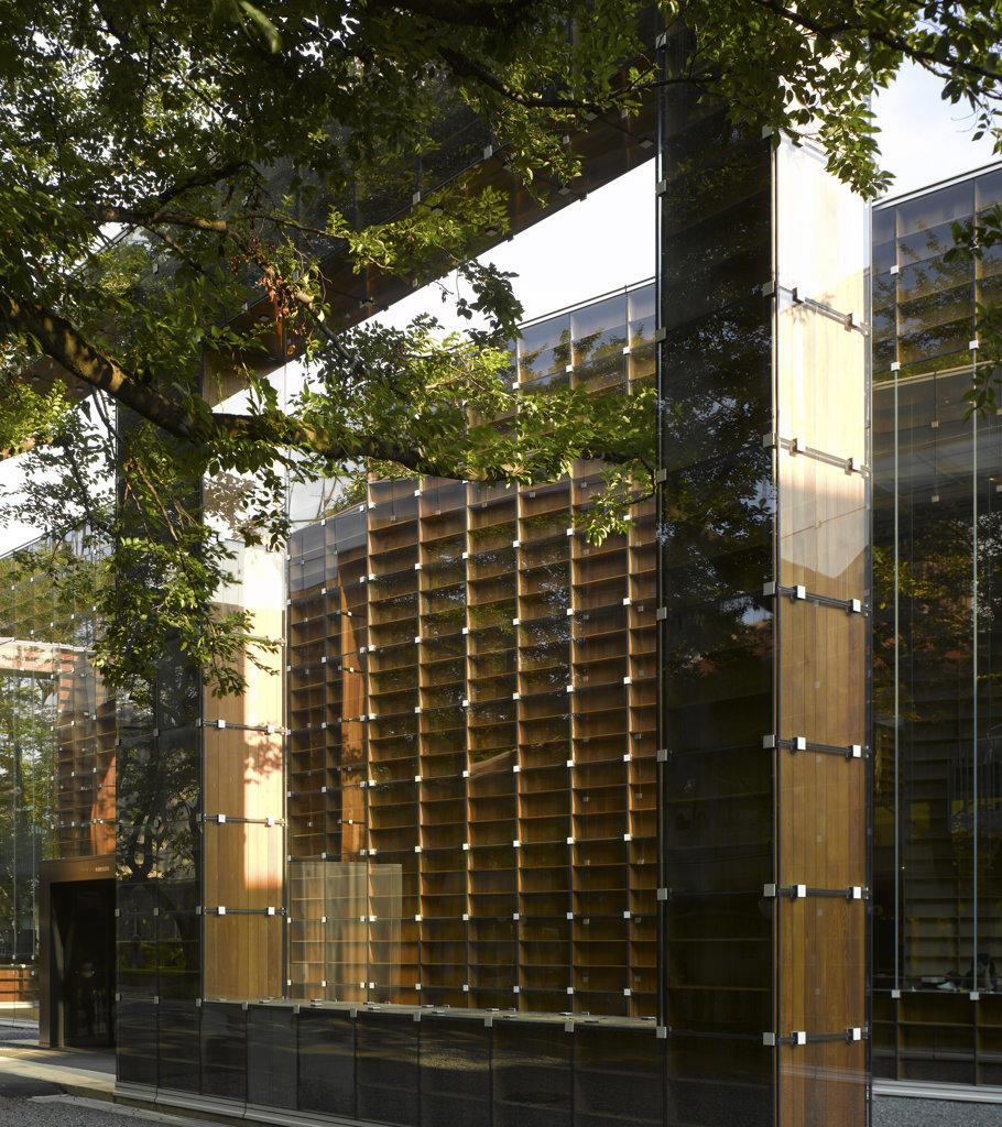 Stock Photo: 1801-61185 Musashino Art University Library  Sou Fujimoto Architects  Tokyo-Exterior View