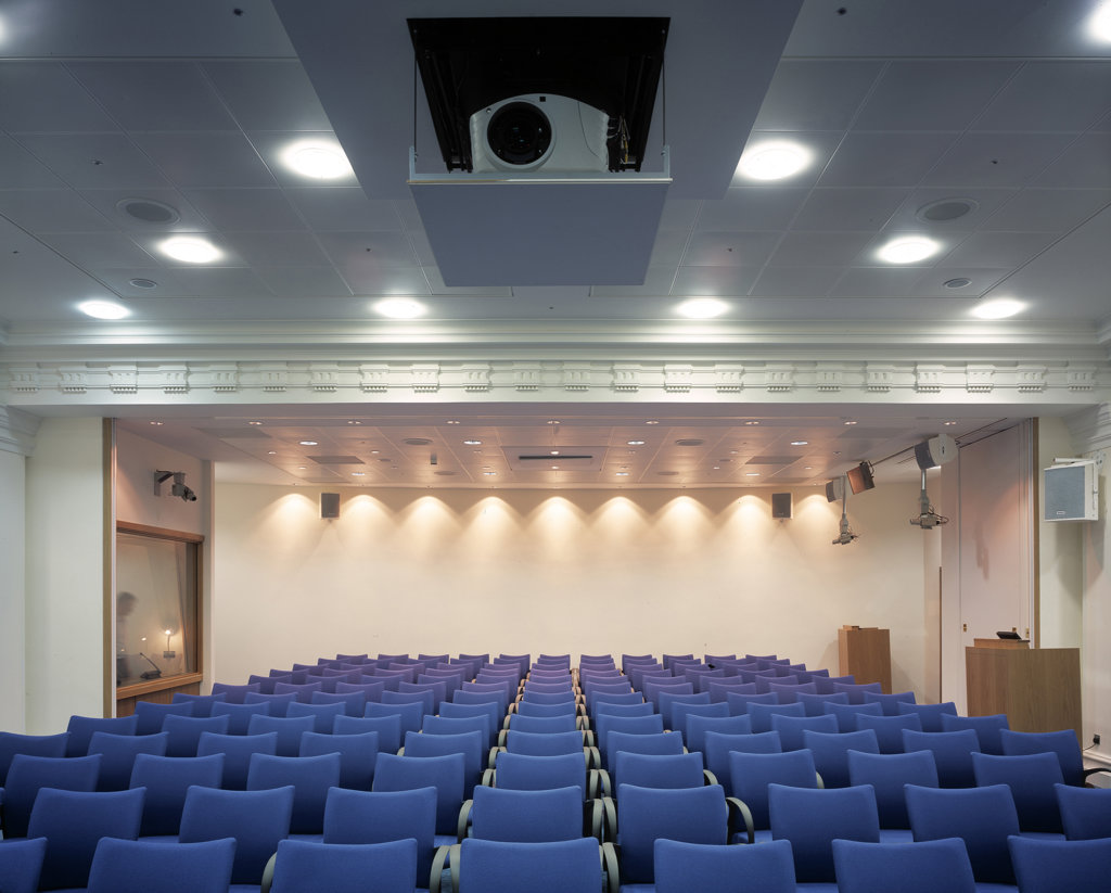 Ministry Of Defence - Mod Conference Area On Upper Level : Stock Photo