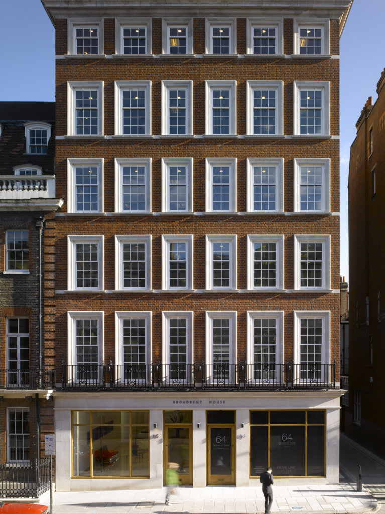 Stock Photo: 1801-62606 Broadbent House, Grosvenor Street, London W1, Orms Architecture And Design