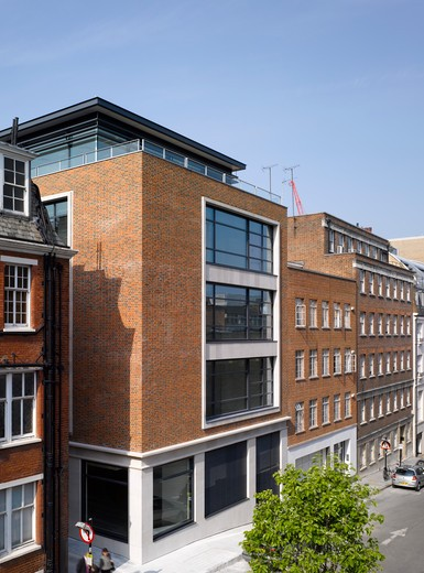 Broadbent House, Grosvenor Street, London W1, Orms Architecture And Design : Stock Photo