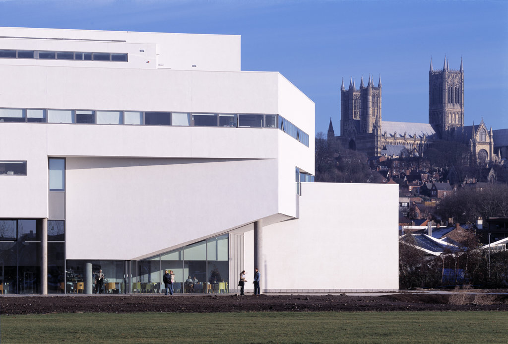 Lincoln School Of Architecture  Lincoln  United Kingdom  Rick Mather Architects  2003. : Stock Photo