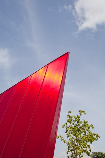 Serpentine Gallery Summer Pavilion 2010 Jean Nouvel With Arup Detail : Stock Photo