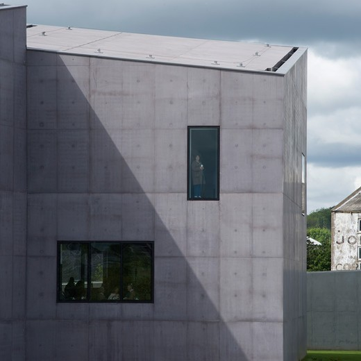 Stock Photo: 1801-64667 The Hepworth Wakefield, David Chipperfield Architects, Wakefield, 2011, Exterior Detail
