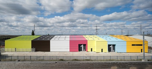 Stock Photo: 1801-66588 Wild Space, Alison Brooks Architects, Rainham Essex, 2011, Rear Elivation